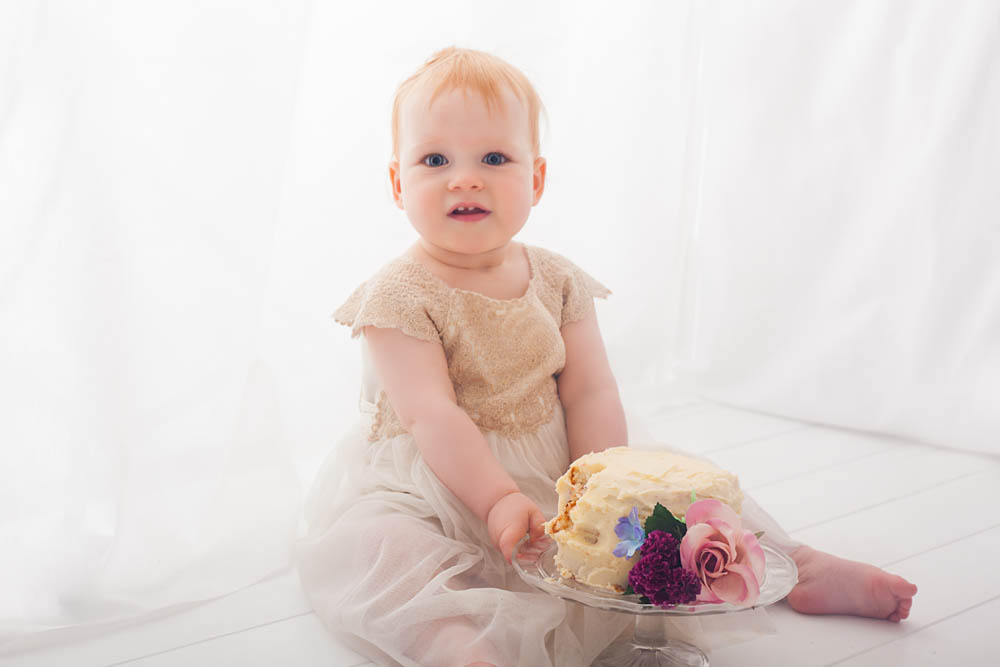 Cake Smash Photography - Sweet Whimsy Photography