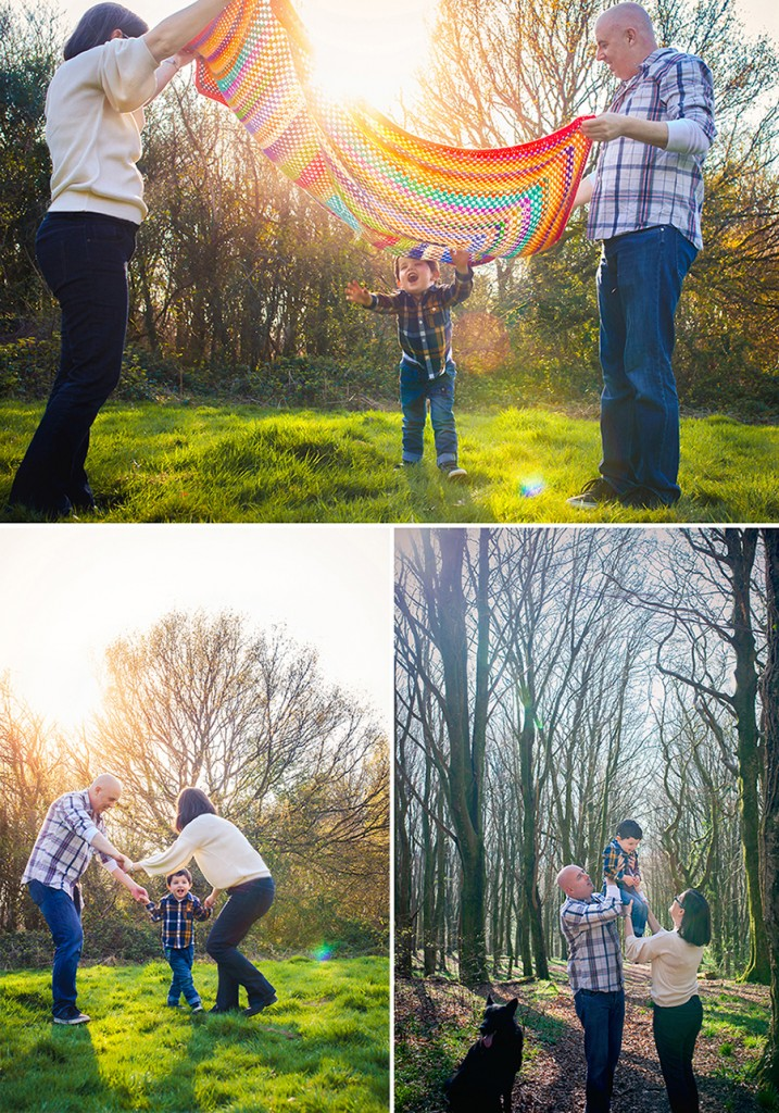 Outdoor Family Photoshoot - Sweet Whimsy Photography