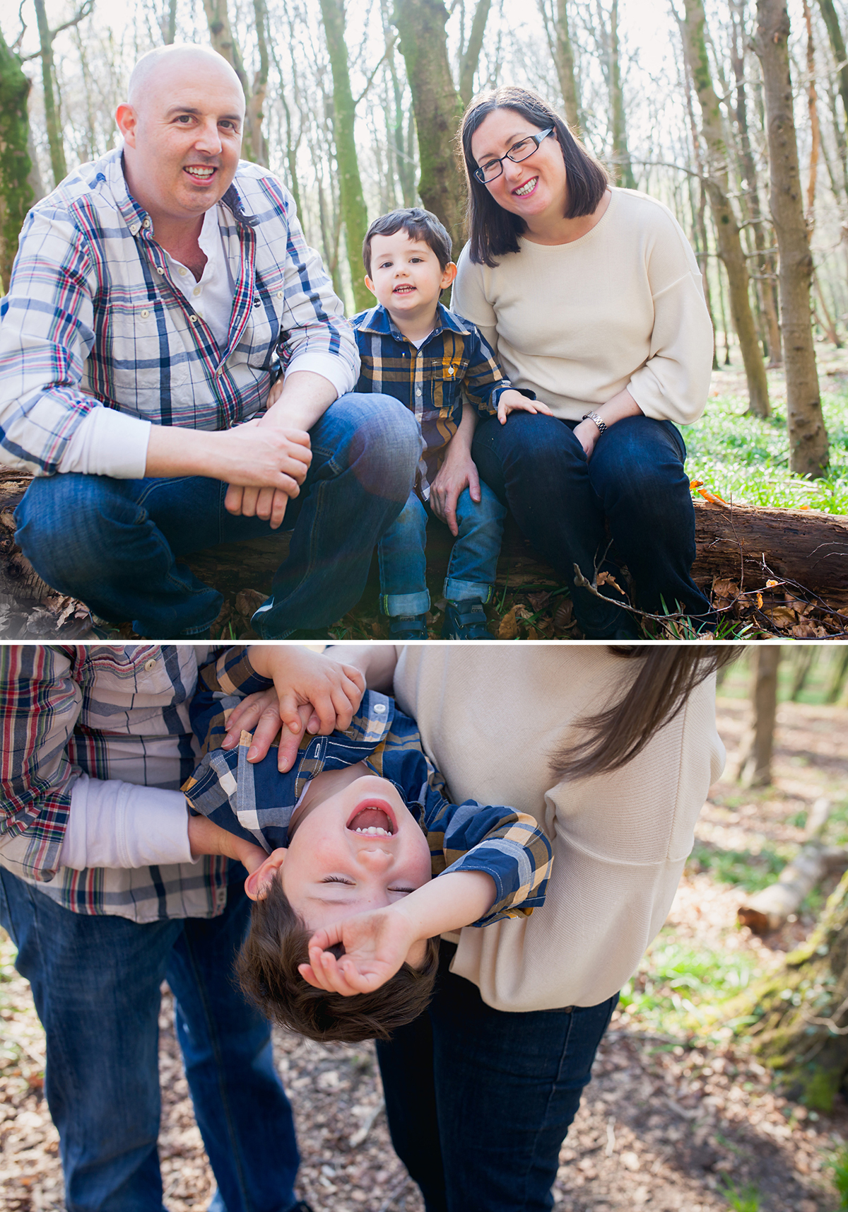 A Farewell Outdoor Family Photoshoot for the Battle family