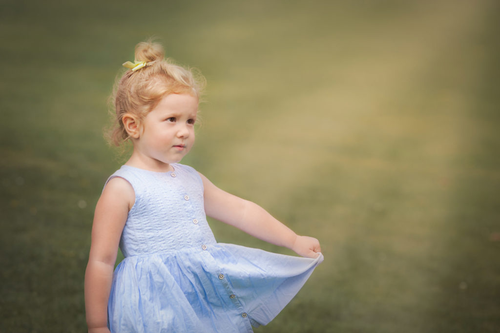 Outdoor child photography by Sweet Whimsy Photography