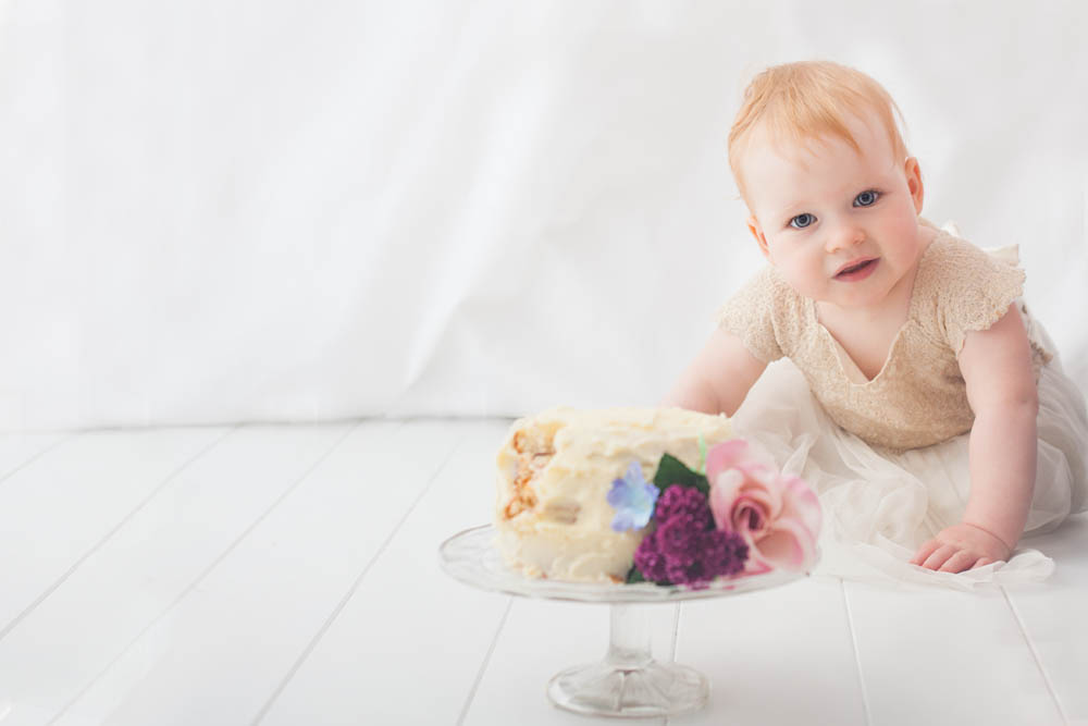 Cake Smash - Sweet Whimsy Photography