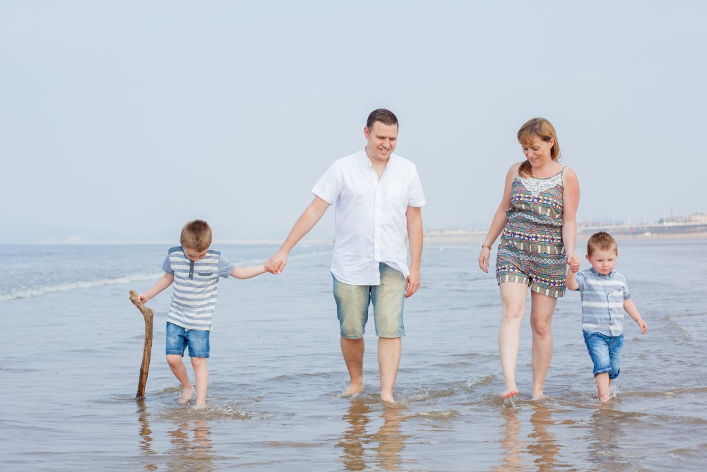 family beach photoshoot Aberavon Sweet Whimsy Photography