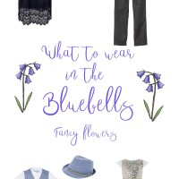 Bluebell Photography Outfit Inspiration- Fancy Flowers