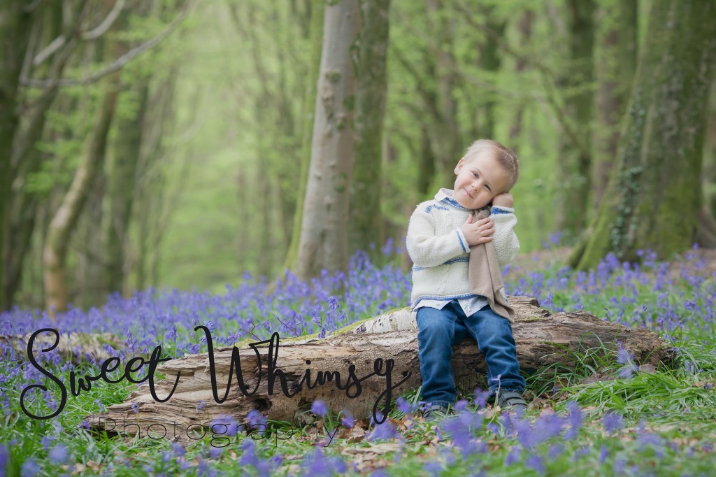 Bluebell Photoshoot Cardiff