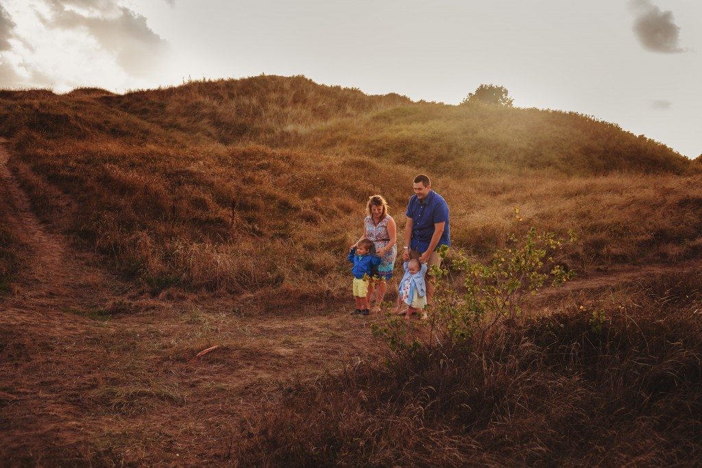 Summer Outdoor Family Portraits Porthcawl
