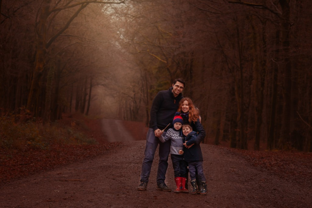 Woodland Family Photoshoot Cardiff